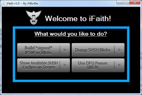 ifaith1 500x336 Tutoriel   Downgrader dun firmware 4.x à ce même firmware et résoudre les problèmes iTunes