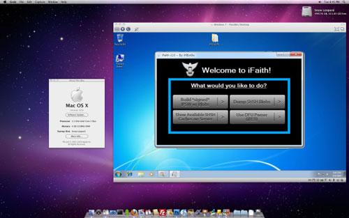 ifaithmac Désinformation   Le développement de iFaith pour Mac OS X navance pas