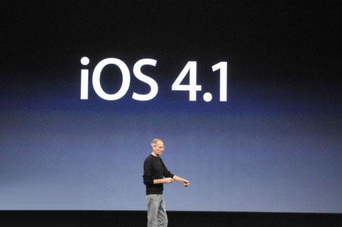 ios News   Apple signe encore liOS 4.1