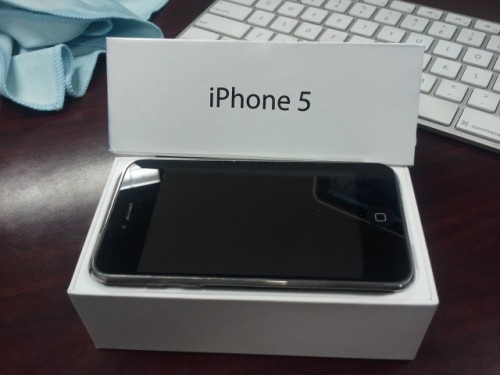 iphone 5 box 500x375 News   Un faux déballage de liPhone 5 en vidéo
