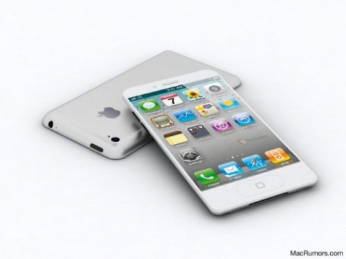 iphone 5 mock.jpeg 500x374 Rumeurs   liPhone 5 et liPad 3 disponibles en Septembre et mis en vente en Octobre ?