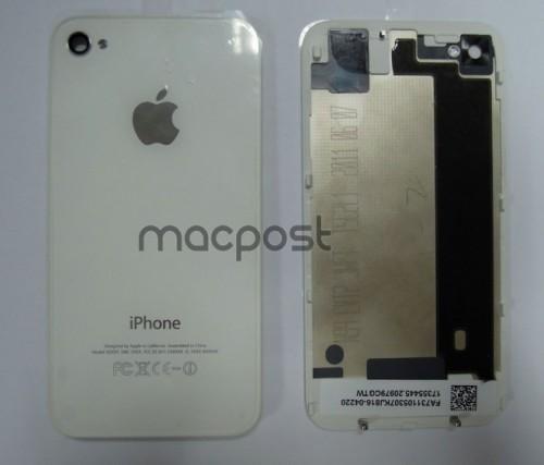iphone 5g back cover white 500x427 Rumeur   Des photos du prototype de liPhone N94 ?