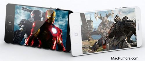 iphone5 2 500x211 Concepts   iPhone 5 : Un nouveau design plus réaliste