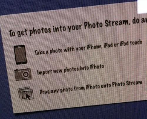 iphone5 1 500x404 News   Photo Stream bêta dévoile une icône de liPhone 5
