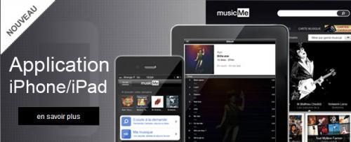 musicme 500x203 News   Test de lapplication MusicMe sur iOS