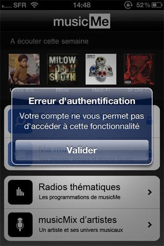 musicme4 News   Test de lapplication MusicMe sur iOS