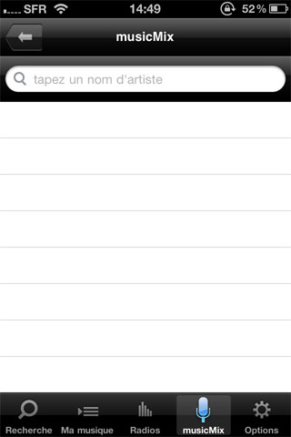 musicme5 News   Test de lapplication MusicMe sur iOS