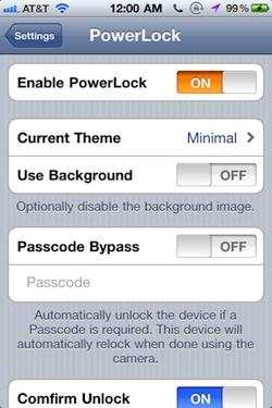 powerlock4 Cydia   PowerLock : ajoutez des Toogles sur votre Lockscreen