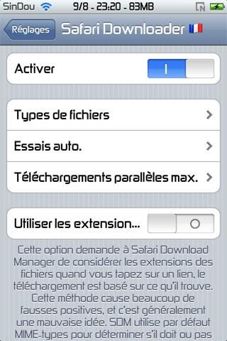 screen1 351 iPhRepo – Mises à jour et ajouts de debs du [28/07/2011] au [21/08/2011]