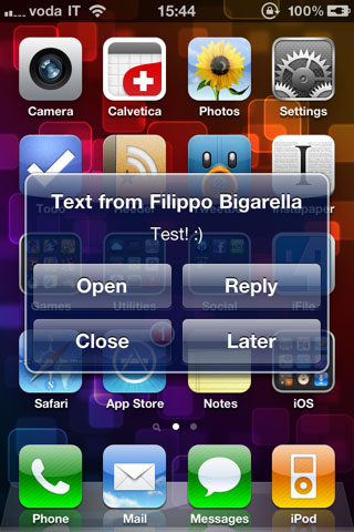 smsplus1 SMS+ bientôt compatible iOS 5 : en attente de PreferenceLoader