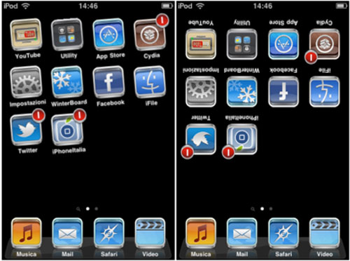 spinnyiphone Cydia   TweakWeek : Spinny fait pivoter vos icônes !