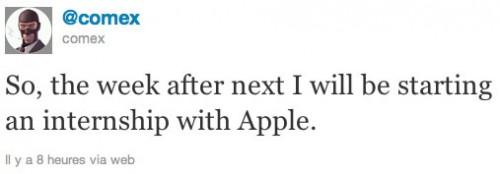 stave comex 500x174 Jailbreak News   Comex sera en stage chez Apple