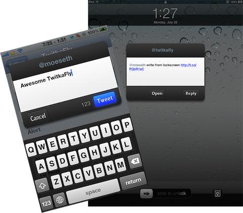 twitkafly sample Cydia   TwitkaFly passe en version 2.0