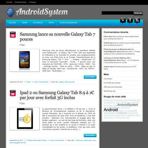 122 AndroidSystem reprend du service