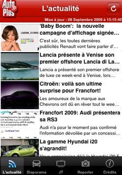 22 AppStore   Auto Plus : Magazine automobile sur iPhone
