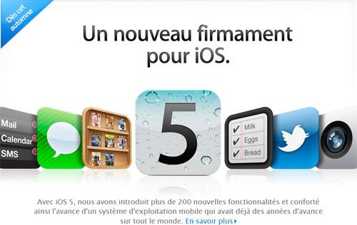 apple iOS5 News   Les opérateurs testent liOS 5