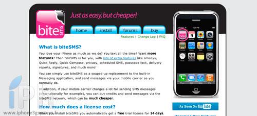 bitesms biteSMS 6.0 déjà disponible en beta 3