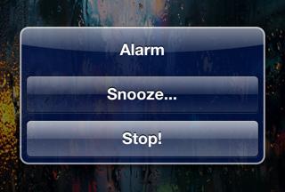 cydia snoozeorstop Cydia   SnoozeOrStop : Désactivez lalarme depuis le Lockscreen