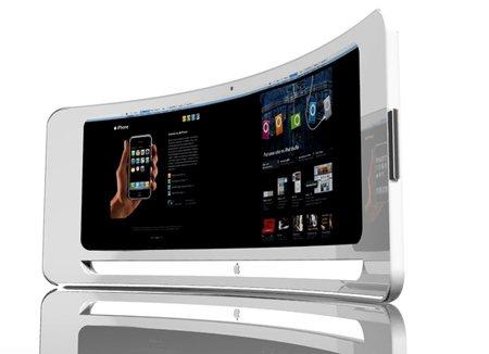 ecran incurve Apple prévoit de produire des écrans incurvés