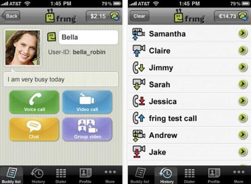 fring2 AppStore   Fring passe en version 5.3.2.36