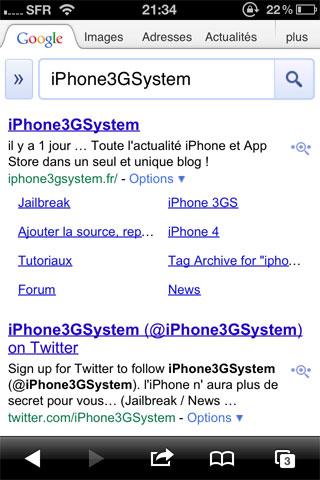 googemobile 2/3 des recherches Google sur mobile sont faites depuis iOS