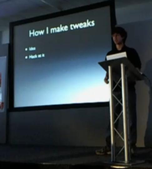 how make a tweak Live Event : MyGreatFest en direct de Londres