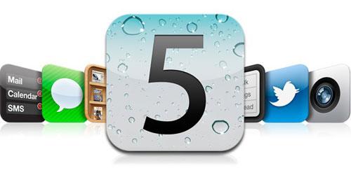 ios51 LiOS 5.0 et liPhone 5 disponibles vers la mi octobre ?
