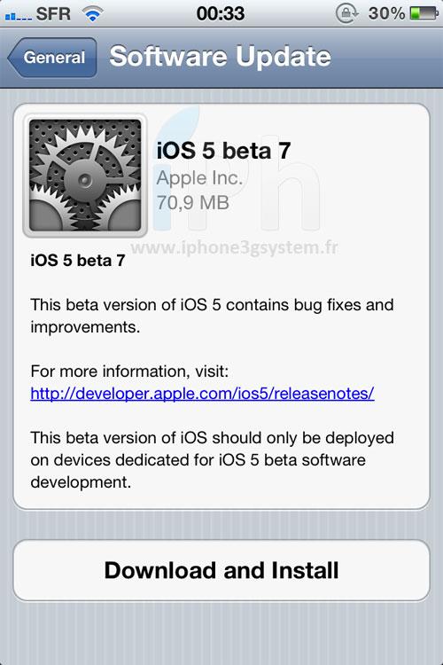 ios5 beta7 News   Les nouveautés de liOS 5 bêta 7 [MAJ]