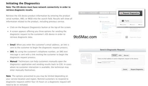 iosdiag2 News   Le service de diagnostic en ligne dApple déjà actif, bientôt disponible