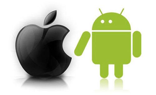 iosvsandroid Android dépasse iOS en France