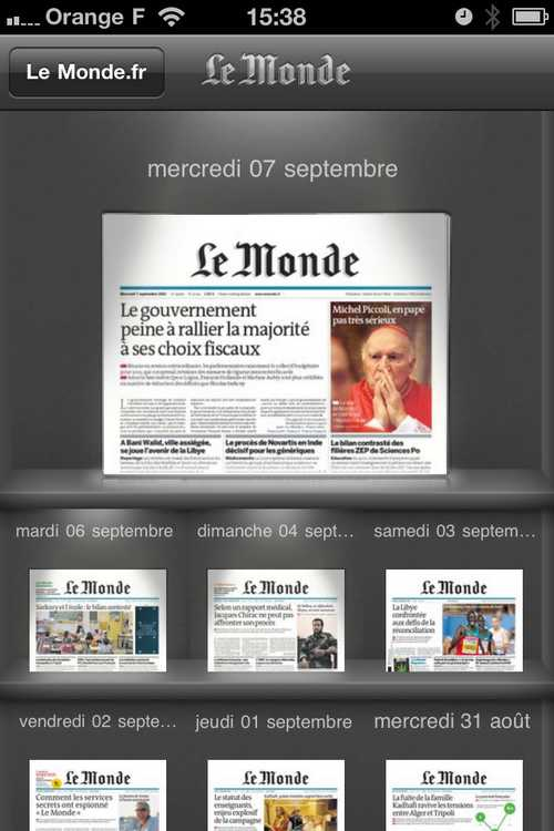journaux LeMonde.fr passe en version 4.0