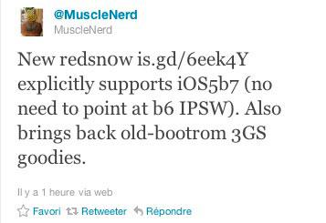 red Jailbreak News   Mise à jour pour redsn0w en version 0.9.8b7b