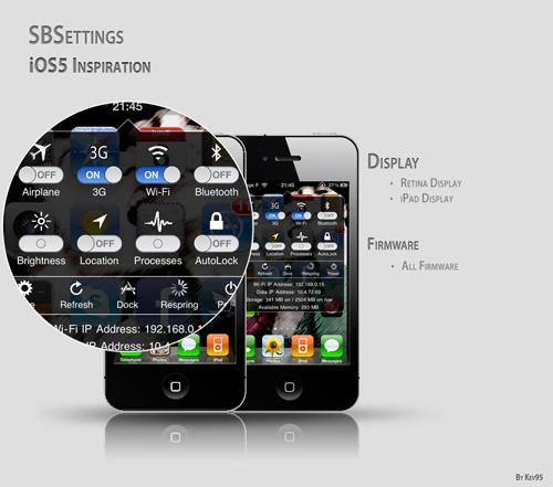sbsettingsios La première beta de SBSettings pour iOS 5 est disponible