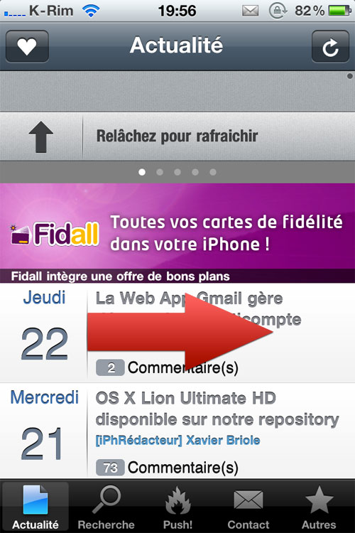 share iPhAccess 5.0.1 disponible et informations diverses