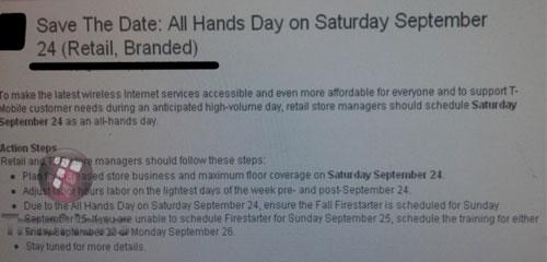 t mobile usa all hands day on september 24 tmonews screenshot 001 T Mobile organise une réunion générale le 24 Septembre