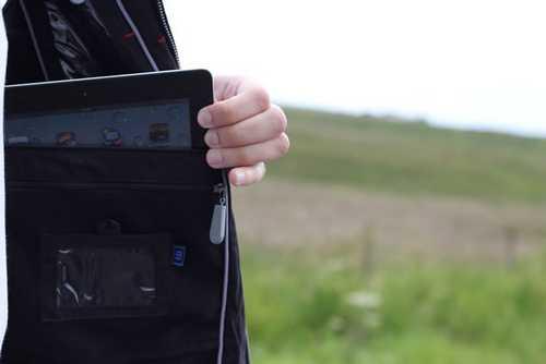 veste AyeGear : La veste qui porte les appareils Apple