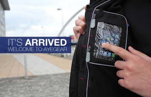 veste21 AyeGear : La veste qui porte les appareils Apple