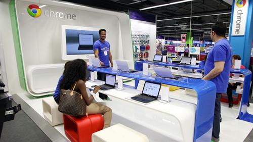 11 Apple puis Microsoft et cest maintenant Google qui possède des magasins