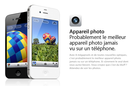 112 Des photos prises depuis un iPhone 4S