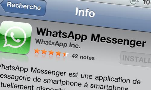 128 Lapplication WhatsApp Messenger gratuite aujourdhui