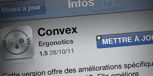 137 Convex se met à jour en version 1.5