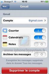 3 GCAL Astuce : Synchroniser le calendrier iOS avec Google Calendar