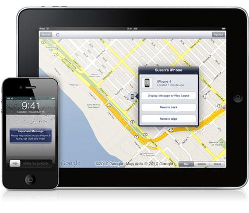 FMiP News Localiser mon iPhone passe en 1.3