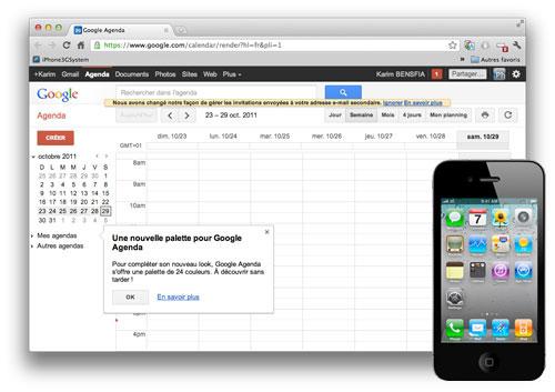 GOOGLE CAL Astuce : Synchroniser le calendrier iOS avec Google Calendar