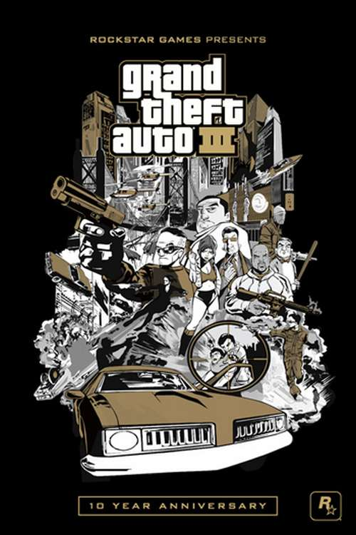 GTA3 Première vidéo pour Grand Theft Auto III sur iOS