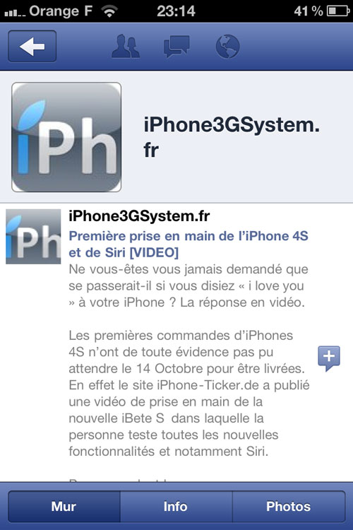 Photo 11 10 11 23 14 06 Facebook passe en version 4.0.1