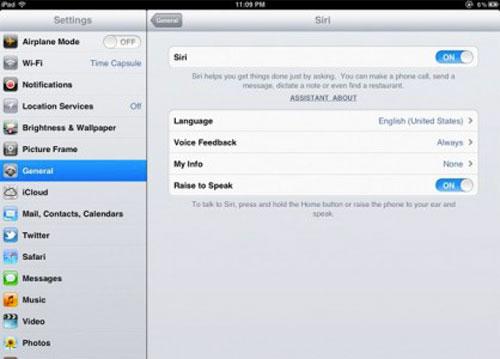 Siri iPad 418x300 Siri bientôt sur iPad