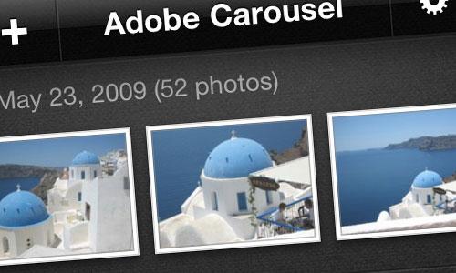 adobe carousel IOS Adobe Carousel débarque sur lApp Store iOS et Mac
