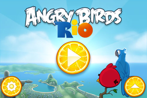 angry birds rio 25 Le Mighty Eagle sinvite sur Angry Birds Rio