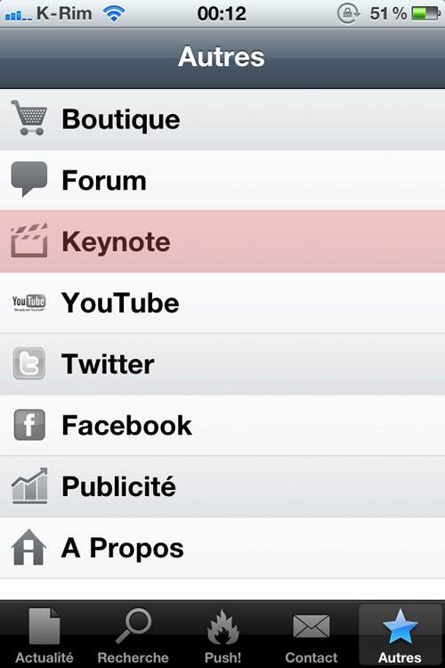 app Lets Talk iPhone : Suivez le Live en direct [18h30]
